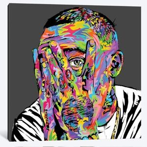 Mac Miller Canvas Painting